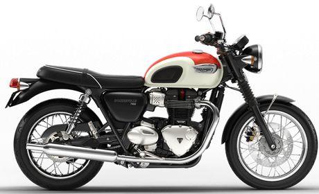 Triumph Bonneville T100 va T100 Black moi trinh lang - Anh 3