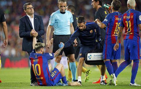 Barca don tin vui tu Messi truoc cuoc doi dau voi Man City - Anh 1