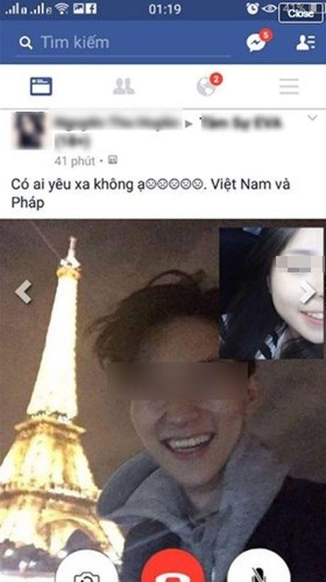 Gai xinh khoe chuyen yeu len mang bi to 'song ao' - Anh 1
