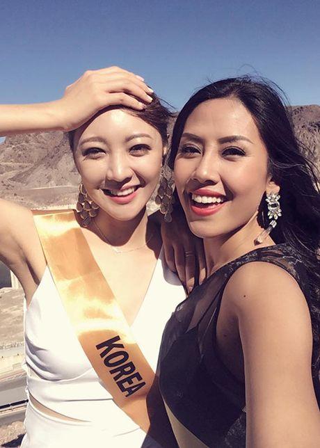 Nguyen Thi Loan tran day nang luong tai Miss Grand International 2016 - Anh 3