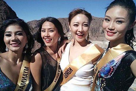 Nguyen Thi Loan tran day nang luong tai Miss Grand International 2016 - Anh 4