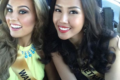 Nguyen Thi Loan tran day nang luong tai Miss Grand International 2016 - Anh 9
