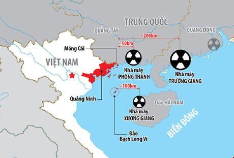 Viet Nam len tieng ve ba nha may dien hat nhan Trung Quoc gan bien gioi - Anh 1