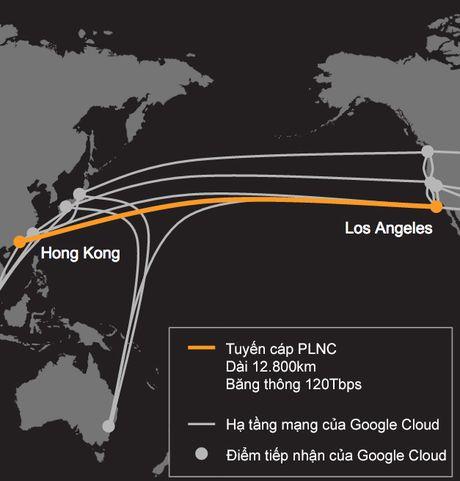 Google bat tay voi Facebook xay dung tuyen cap quang bang thong lon nhat xuyen Thai Binh Duong - Anh 1