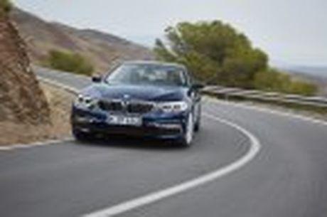 BMW 5-Series 2017 hoan toan moi; dep hon, thanh thoat hon, nhieu cong nghe hon - Anh 19