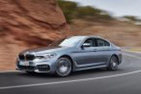 BMW 5-Series 2017 hoan toan moi; dep hon, thanh thoat hon, nhieu cong nghe hon - Anh 30