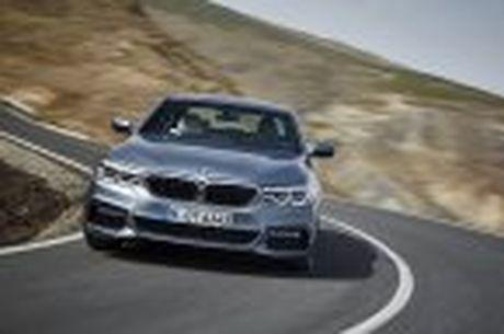 BMW 5-Series 2017 hoan toan moi; dep hon, thanh thoat hon, nhieu cong nghe hon - Anh 37