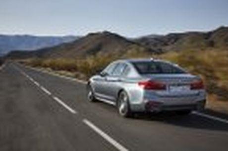 BMW 5-Series 2017 hoan toan moi; dep hon, thanh thoat hon, nhieu cong nghe hon - Anh 38