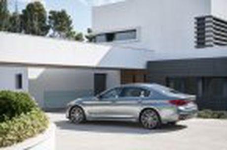 BMW 5-Series 2017 hoan toan moi; dep hon, thanh thoat hon, nhieu cong nghe hon - Anh 42