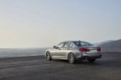 BMW 5-Series 2017 hoan toan moi; dep hon, thanh thoat hon, nhieu cong nghe hon - Anh 44