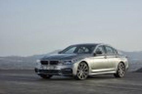 BMW 5-Series 2017 hoan toan moi; dep hon, thanh thoat hon, nhieu cong nghe hon - Anh 45
