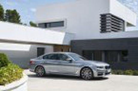 BMW 5-Series 2017 hoan toan moi; dep hon, thanh thoat hon, nhieu cong nghe hon - Anh 47