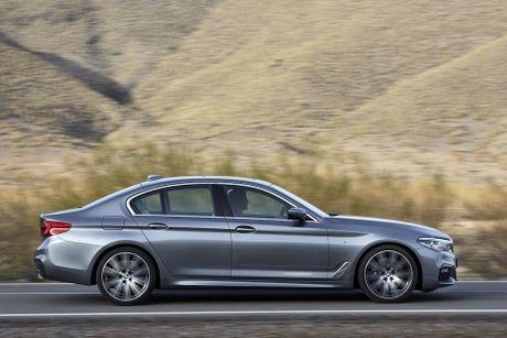BMW 5-Series 2017 hoan toan moi; dep hon, thanh thoat hon, nhieu cong nghe hon - Anh 4