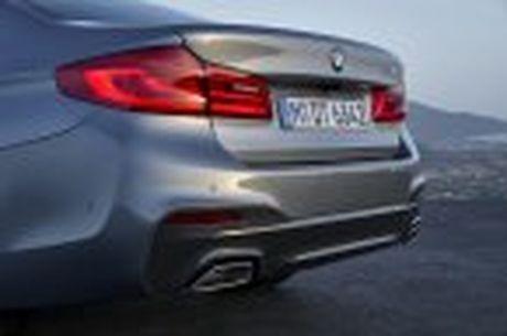 BMW 5-Series 2017 hoan toan moi; dep hon, thanh thoat hon, nhieu cong nghe hon - Anh 50