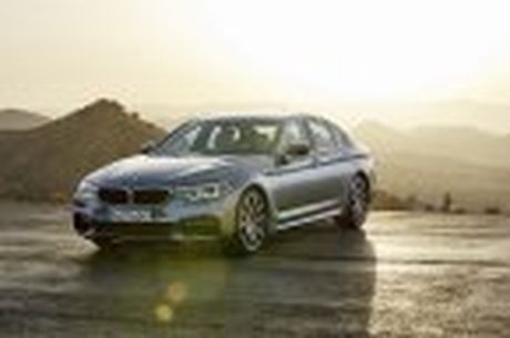 BMW 5-Series 2017 hoan toan moi; dep hon, thanh thoat hon, nhieu cong nghe hon - Anh 58