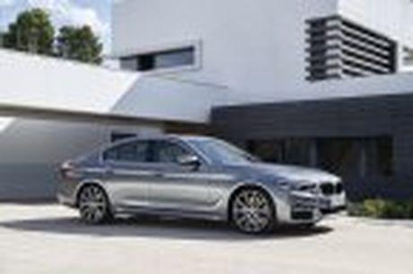 BMW 5-Series 2017 hoan toan moi; dep hon, thanh thoat hon, nhieu cong nghe hon - Anh 65