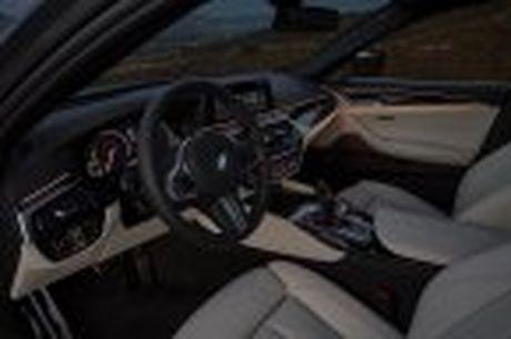 BMW 5-Series 2017 hoan toan moi; dep hon, thanh thoat hon, nhieu cong nghe hon - Anh 77