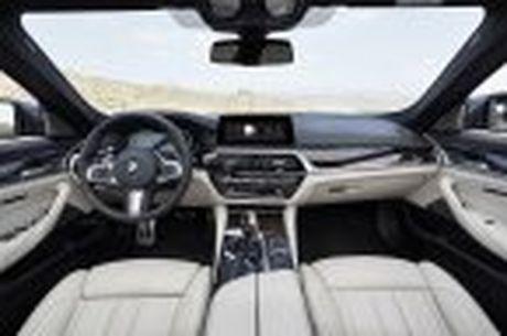 BMW 5-Series 2017 hoan toan moi; dep hon, thanh thoat hon, nhieu cong nghe hon - Anh 80
