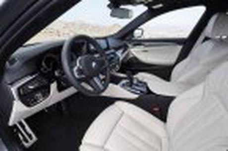 BMW 5-Series 2017 hoan toan moi; dep hon, thanh thoat hon, nhieu cong nghe hon - Anh 81