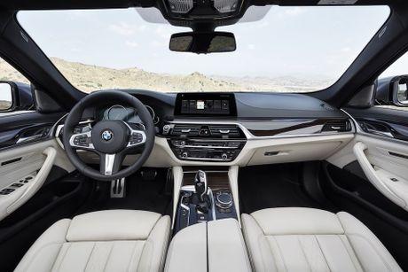 BMW 5-Series 2017 hoan toan moi; dep hon, thanh thoat hon, nhieu cong nghe hon - Anh 8