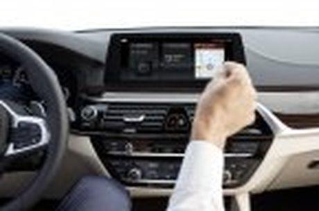 BMW 5-Series 2017 hoan toan moi; dep hon, thanh thoat hon, nhieu cong nghe hon - Anh 93