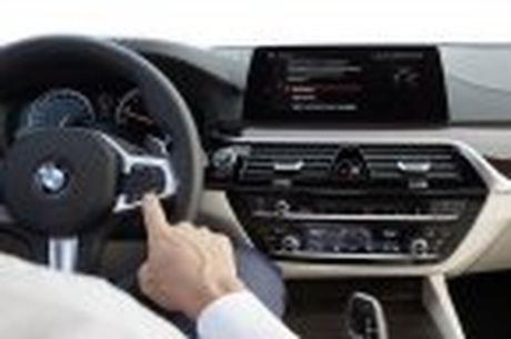 BMW 5-Series 2017 hoan toan moi; dep hon, thanh thoat hon, nhieu cong nghe hon - Anh 94