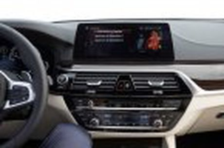 BMW 5-Series 2017 hoan toan moi; dep hon, thanh thoat hon, nhieu cong nghe hon - Anh 98
