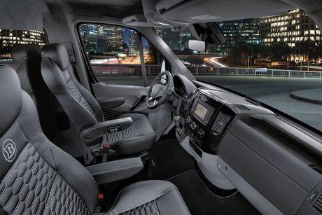 Brabus do Mercedes Sprinter thanh 'van phong di dong' cao cap, gia 224.910 Euro - Anh 15