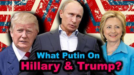 Ong Putin canh bao ong Trump va ba Cliton khong loi dung Nga trong khi tranh cu - Anh 1