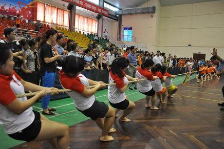 Ngay hoi the thao trong CNVCLD nganh Y te Thu do nam 2016 - Anh 4