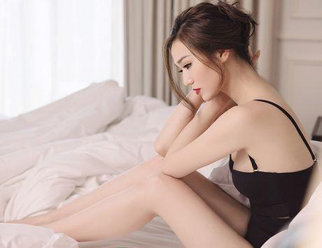 Khanh My nude trong bon tam khoe da trang non - Anh 10