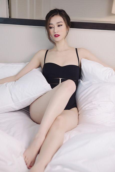 Khanh My nude trong bon tam khoe da trang non - Anh 9