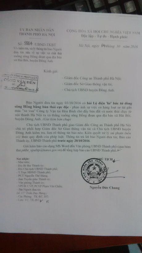Ha Noi yeu cau lam ro vu 'buc tu song Hong bang bun thai doc' - Anh 1