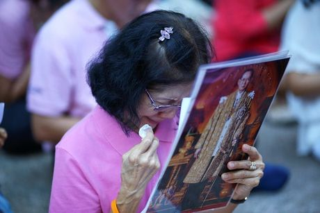 Cac co quan chinh phu Thai Lan se de tang Quoc vuong 1 nam - Anh 2