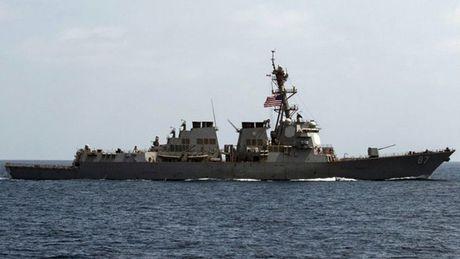 Tau chien My phong Tomahawk pha huy cac dan radar o Yemen - Anh 1