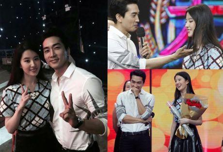 'Nang Dae Jang Geum' dep long lanh ben ban trai Luu Diec Phi - Anh 4