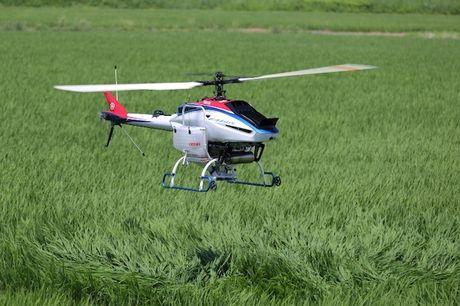 Yamaha ban ra hai dong drone dang truc thang - Anh 1