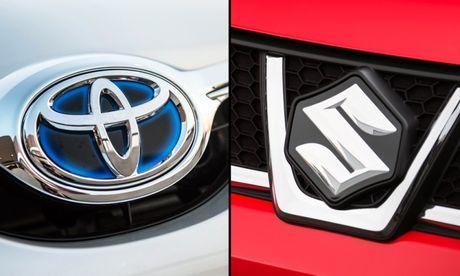 Toyota va Suzuki hop tac cung phat trien - Anh 1