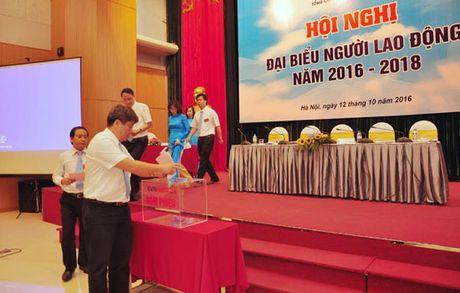 EVN HANOI to chuc Hoi nghi Dai bieu Nguoi lao dong nam 2016 - Anh 1