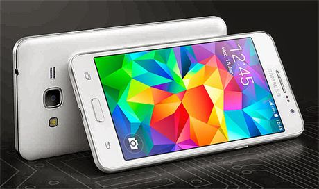 Galaxy Grand Prime+: Smartphone gia re lo dien - Anh 1