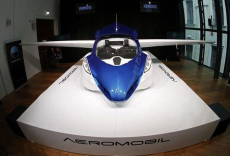 O to bay AeroMobil 3.0 se chao hang vao nam 2017 - Anh 1