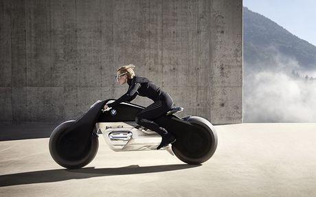 Chiem nguong y tuong xe mo to thong minh 'sieu thuc' cua BMW - Anh 1