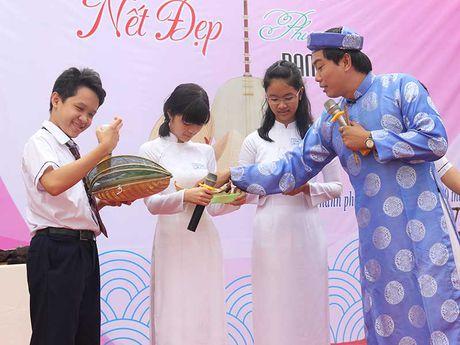 Hoc sinh hung thu voi net van hoa Nam Bo - Anh 1