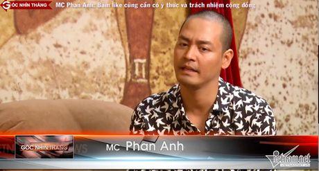 MC Phan Anh: 'Toi like dao moi ngay...' - Anh 2