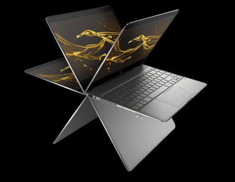 HP nang cap Spectre X360 thanh laptop mong, nhe va manh hon - Anh 2