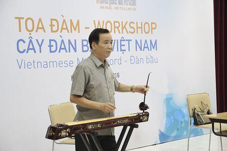 Dan Bau - bieu tuong van hoa va tam hon Viet Nam - Anh 3