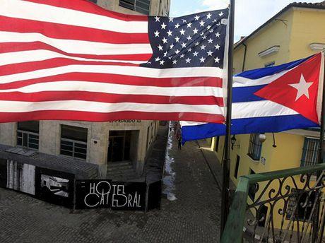 Phai doan cua My den Cuba tien hanh doi thoai ve nhan quyen - Anh 1