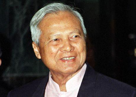 Chu tich Hoi dong co mat Thai Lan Prem Tinsulanonda se nhiep chinh - Anh 1