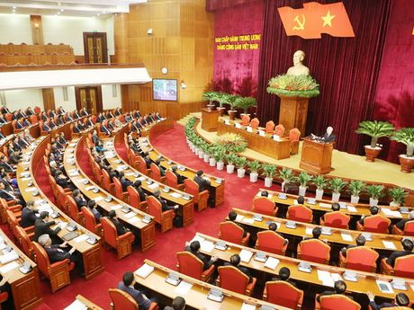 Thong cao bao chi phien be mac Hoi nghi BCH Trung uong Dang - Anh 1