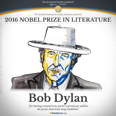 Bob Dylan gianh giai Nobel Van hoc: Nha van Viet 'sung so' - Anh 1